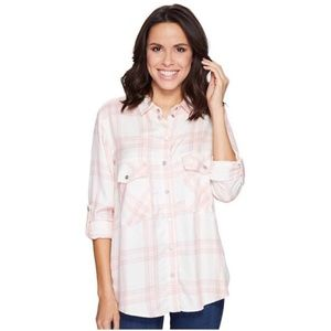 SANCTUARY | Pink Plaid Flannel